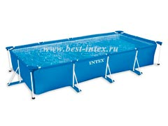 Каркасный бассейн Intex Rectangular Frame Pool 28273, 450 х 220 х 84 см