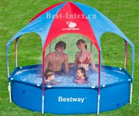 Каркасный бассейн Bestway Splas-In-Shade Play Pool 56193, 244 х 51 см