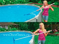 ����� ��� ������ ��������� Intex Deluxe Pool Maintenance Kit 28003