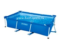 Каркасный бассейн Intex Rectangular Frame Pool 28270, 220 х 150 х 60 см