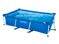 Каркасный бассейн Intex Rectangular Frame Pool 28272, 300 х 200 х 75 см