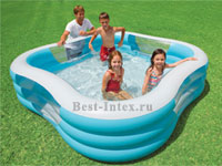 ������� �������� ������� Family Pool Intex 57495, 229 � 229 � 56 ��